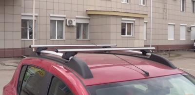 Багажник на крышу (на штатные рейлинги, овальные перекладины 1,2)