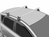 Багажник на крышу Volkswagen Polo 2010-2019 г. СЕДАН! (перекладины Крыло 1,2 метра)