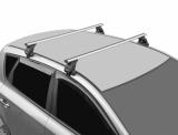 Багажник на крышу Volkswagen Polo 2010-2019 г. СЕДАН! (перекладины Овал 1,2 метра)