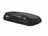"""АвтоБокс Carl Steelman Classic 390л. (1750х790х400мм.) черный карбон-техно с двухсторонним открытием + еврокрепление""""краб"""""""