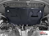 Защита двигателя SKODA Fabia 2007-2014 года