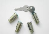 Набор личинок с ключами багажной системы LUX (4шт.)